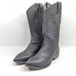 Rampage Cowboy Boots Women's 6.5